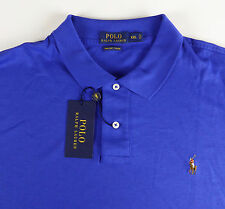 Polo Ralph Lauren SS Soft Touch Pima Cotton Polo Shirt w/ Multi Pony NWT $85-$98