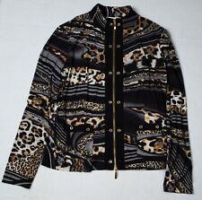 Joseph Ribkoff Animal Jacket / Top W/ Matching Blouse Sz US 10 / UK 12 / IT 44