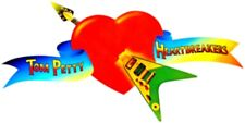 TOM PETTY & THE HEARTBREAKERS TP AND HEARTBREAKERS STICKER DECAL GUITAR HEART