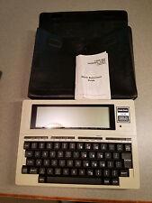 Vintage TANDY TRS-80 MODEL 100 Portable Computer Radio Shack Case Laptop WORKS!