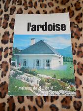 REVUE L'ARDOISE - n° 209 - 3e trimestre 1972
