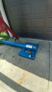 boom attachment for a fork lift or a skid steer. 4000 Lb. cap. Telescoping boom