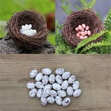 Creative Decorative Natural Plant Bird Nest Resin Eggs Home Decorations