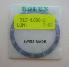 ORIGINAL ROLEX SUBMARINER Old Style GOLD BLACK BEZEL INSERT GENUINE ROLEX 1680