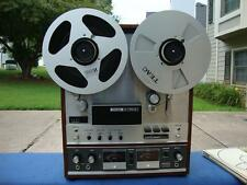 Awesome Teac A-7010 Reel to Reel Tape Deck + RE-1002 Take Up Reel + TZ-610 Hubs