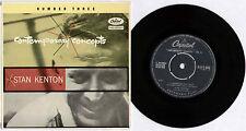"STAN KENTON~CONTEMPORARY CONCERTS NUMBER THREE (PART 2)~1955 UK 7"" EP + P/S"