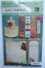 Brenda Walton ~SCRIBE ADHESIVE JOURNAL TAGS~ K & Company CO; 140 pcs in package!