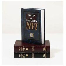 BIBLIA DE ESTUDIO NVI / NVI STUDY BIBLE - NOT AVAILABLE (NA) - NEW PAPERBACK BOO