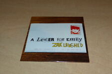 ZAK LAUGHED - A LETTER FOR EMILY!!!RARE CD PROMO !!!!FRANCE!!!!