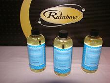 RAINBOW VACUUM AQUAMATE CARPET SHAMPOO CLEANER/ 3 BTLS. OF NEW FORMULA/GENUINE