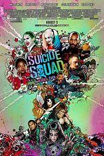 Suicide Squad DC Comics Cartel De Película DS Final Estilo Affleck Smith