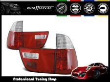 FEUX ARRIERE ENSEMBLE LTBM44 BMW X5 E53 1999 2000 2001 2002 2003 RED WHITE