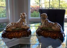 Cheetah Figurines, Excellent Condition sold as a pair