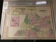 1868 Beers map of Roseboom Ny - original