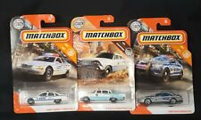 Matchbox Police Car Lot of 3 In Original Packaging NYPD Caprice, Ford, '59 Dodge