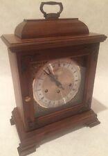 Vintage Hamilton Mantle Clock - Key Wind 5 Hammer 2 Jewel West Germany Movement