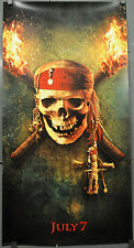 """PIRATES OF THE CARIBBEAN:DEAD MAN'S CHEST 2006 ORIG 26X50 """"KIOSK"""" MOVIE POSTER"""