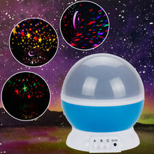 USB LED Night Lamp Star Light Rotating Projector Starry Sky Romantic Cosmos Room