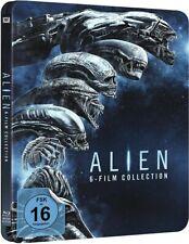 ALIEN 1-4 + PROMETHEUS + ALIEN:COVENANT (6 Blu-ray Discs, Steelbook) NEU+OVP
