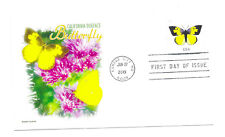 5346 California Dogface Butterfly, Panda Cachets, FDC.