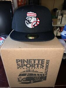 Greeneville Reds New Era BP 59Fifty Cap Hat Size 7 1/4 Cincinnati Mr. Redlegs