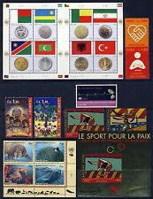 UN . GENEVA . 2008 Year Set . 11 Stamps + 4 Sheets . Mint Never Hinged