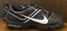 Nike Air Rival Men's Golf Shoes Black White Water Resistant 552082-001 Size 12