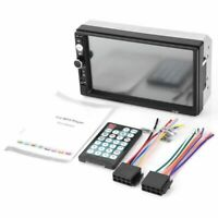 1X(2 din Autoradio stereo de voiture 7010B Lecteur multimedia 7 pouces HD MP5 4E