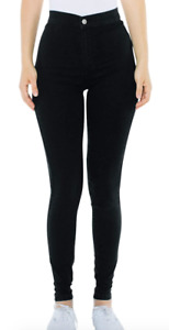 American Apparel Women's The Easy Jean, Black, XL, X-Large NWT Free Shipping