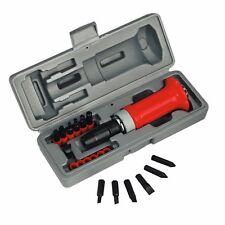 Sealey 15 PCE 1.3cm MANUAL Destornillador de impacto con ranura, Phillips, hex.