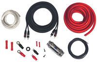 ROCKFORD Kit Cavi Auto 10 mm² per installazione amplificatore Cavo 10mm auto rca