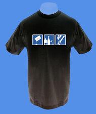 Männer Herren T-Shirt Party Feiern Konsum move2be M L XL XXL schwarz