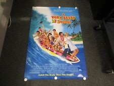 """1996 A VERY BRADY SEQUEL MOVIE POSTER 27"""" X 40"""" ROLLED"""