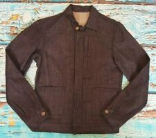 """LEVIS MADE AND CRAFTED BLUE DARK BLUE PLEATED JACKET 36"""" XS CHEST BNWoT"""
