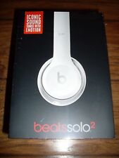 Beats By Dre Solo 2.0 Headphones-White NEW