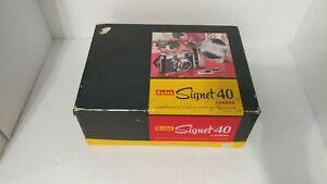 Vintage Kodak Signet 40 Camera w/ Kodalite Super-M40 Flasholder