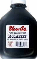 SLOW AS MOLASSES MOLASSES BLACKSTRAP 32 OZ (Pack of 6)