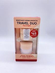 Shiseido Benefiance Wrinkleresist24 Travel Duo Day & Night Ginza Tokyo