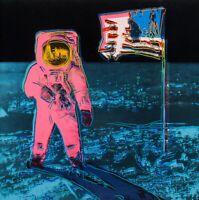 "ANDY WARHOL Pop Art Poster or Canvas Print ""Moonwalk"" Version 2"