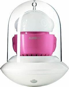 NEW Alessi UFO Forever Lamp White & Pink Touch Dim Rechargeable Lantern Unopened
