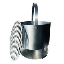 """LavaLock® 14"""" WSM charcoal basket Weber Smokey Mountain smoker 22.5 coal grate"""