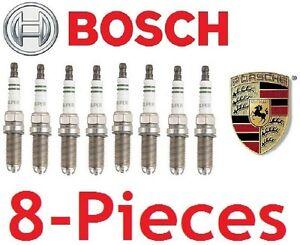 8-Pieces Bosch FGR5NQE0 oem Spark Plugs For Porsche 911 Boxster Cayenne Cayman
