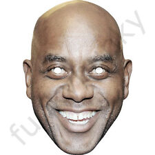 Ainsley Harriott Celebrity Chef Card Mask - All Masks Are Pre-Cut! ***