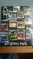 Mustad crochet job lot