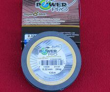 tresse power pro spectra super 8 slick 135m-0.32mm-24 kgs
