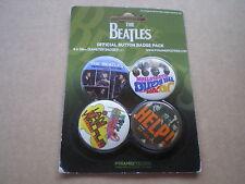 beatles lot 1 official badgepack 4x 38 mm punk (ce ne sont pas des picture disc)