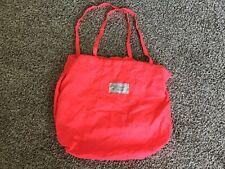 Marc Jacobs Beach Shopping Book Light Tote Neon Pink Bag Inner Pocket (p1)