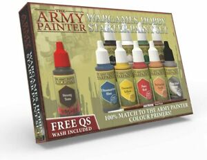WARGAMES HOBBY STARTER PAINT SET - THE ARMY PAINTER
