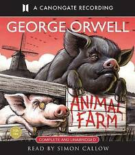 Animal Farm George Orwell CD AUDIO BOOK NEW SEALED COMPLETE VERSION SIMON CALLOW