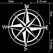Fashion JDM Travel Compass All Directions Hellaflush Vinyl Car Sticker Decal x1